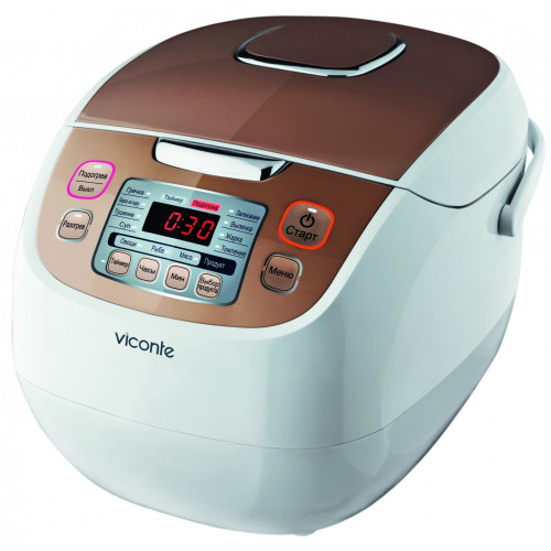 Мультиварка Viconte VC-602 5л керамика 3D 900Вт