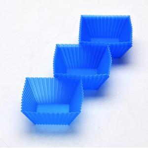 Силиконовая форма для выпечки кексов  6шт/уп Mayer&Boch MB-22069