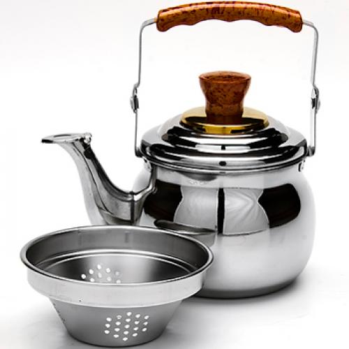 Чайник-заварник  металлический со свистком Mayer&Boch MB-23509