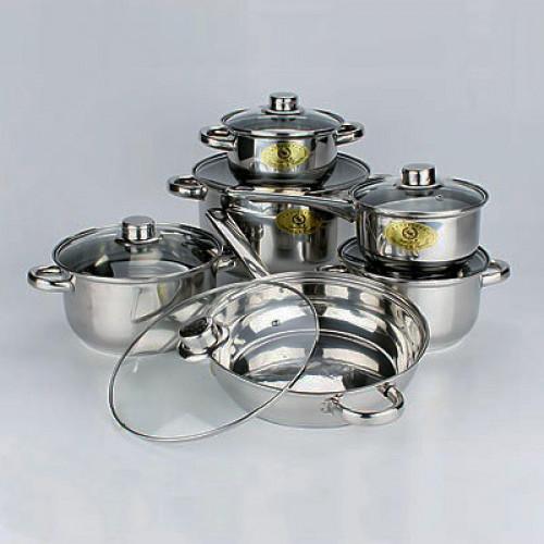 Набор посуды 12 предметов Mayer&Boch MB-6071
