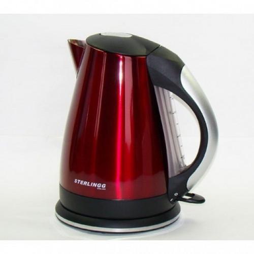 Чайник электрический металлический цветной Sterlingg ST-6918