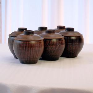 Набор глиняных горшков Смак